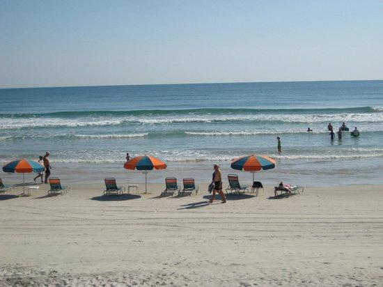 Sun Viking Lodge : hotel beach