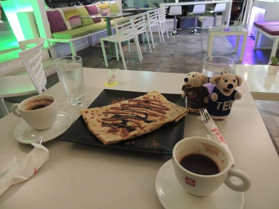 """Yolove: Yummo Crepe """" I think it was called Funky Monkey"""""""