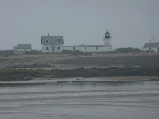 Cape Porpoise Chowder House: Goat Island Lighthouse