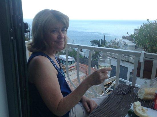 Balcony at Hotel Villa delle Palme