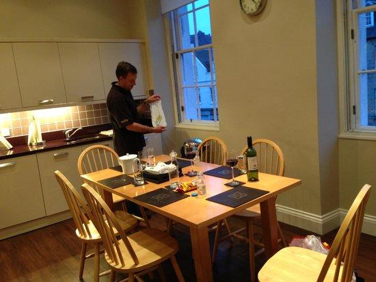 Twenty One Hanover Street: Flat 2 Kitchen