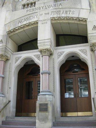 Pennsylvania Academy of the Fine Arts: entrance