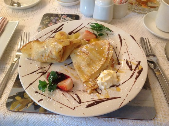 Amber Lodge Bed and Breakfast: Amazing crepes