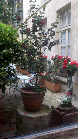 Hotel du Jeu de Paume : Courtyard