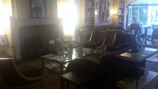 Hotel du Jeu de Paume : Lounge - Bar