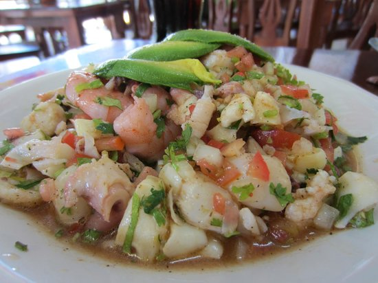El Cejas : The Special Mixed Ceviche w/ conch. Absolutely delicious.