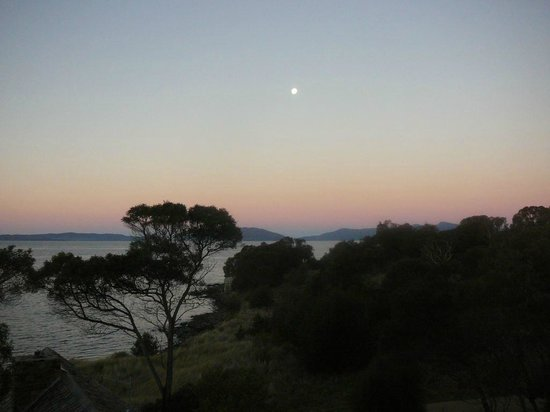 Piermont Retreat: Full moon - view from our room