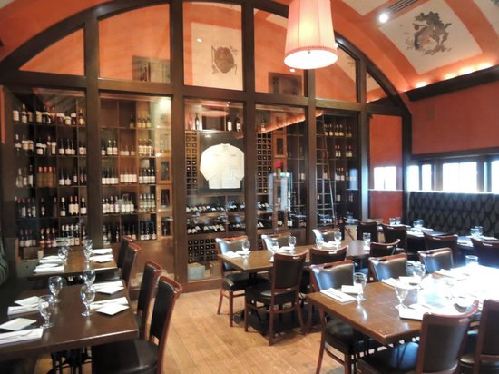 Trezo Mare: Wine Room
