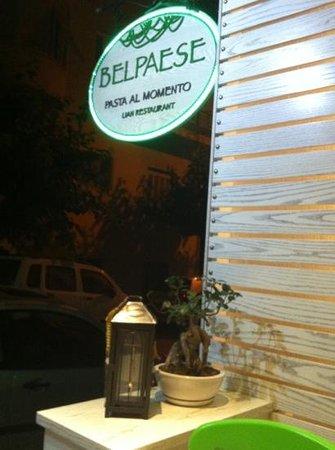 Belpaese : Adicionar uma legenda