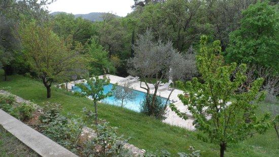 La Bruissanne: The pool!