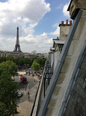 Derby Eiffel Hotel: View from room