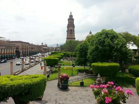 Hotel Virrey de Mendoza: Vista desde la habitación
