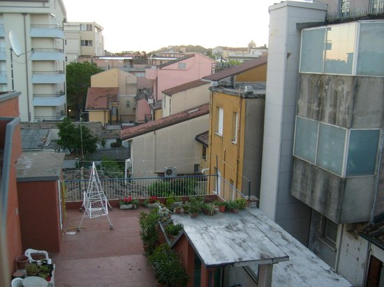 Hotel Pinocchio: View from room
