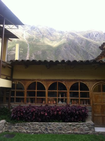 Hotel Samanapaq: courtyard