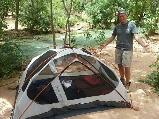 Havasu Falls Campground: Camping at the river .. amazing !!!