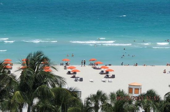 another view from room picture of hotel riu plaza miami. Black Bedroom Furniture Sets. Home Design Ideas