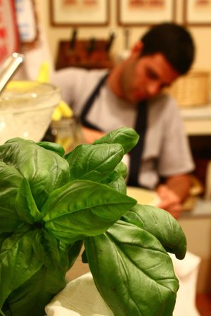 Oltre il Giardino: fresh basil