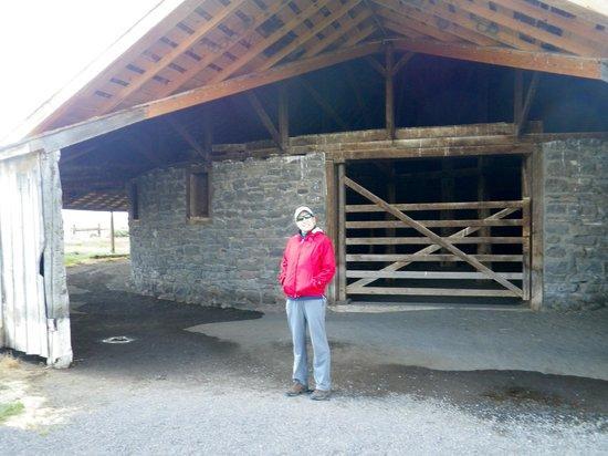 Malheur National Wildlife Refuge: The big round barn