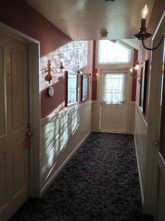 Hotel La Rose: hallway