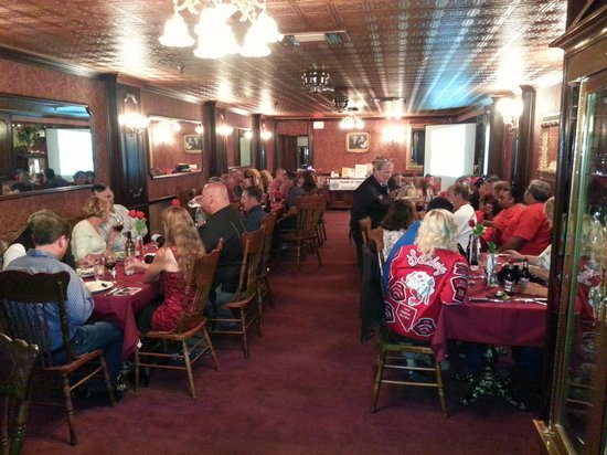 Mizpah Hotel: Dinner in the Jack Dempsey Room