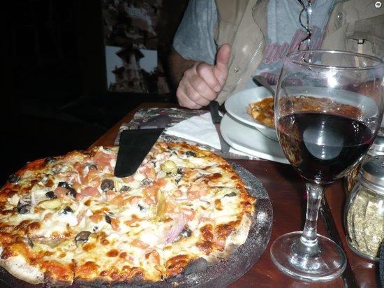 Italianissimo: Pizza Alcachofa