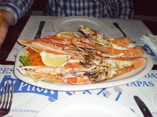 El Pilon : Блюдо с омарами.