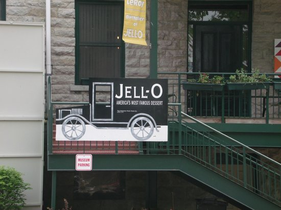 Jell-O Gallery Museum: Welcome to the Jello Museum