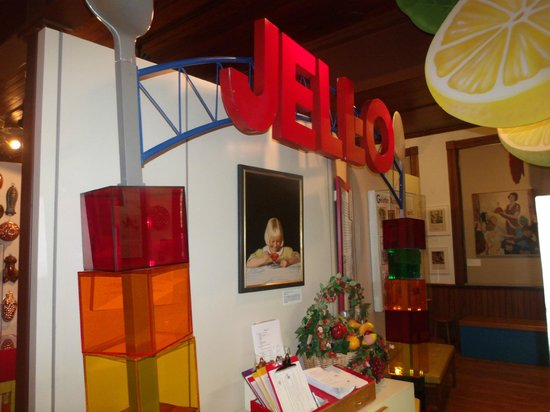 Jell-O Gallery Museum: Jello sign from Winter Olympics in Salt lake