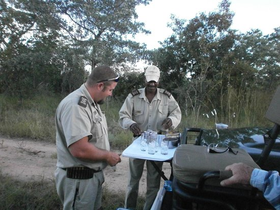 Sabi Sabi Bush Lodge: Sundowners