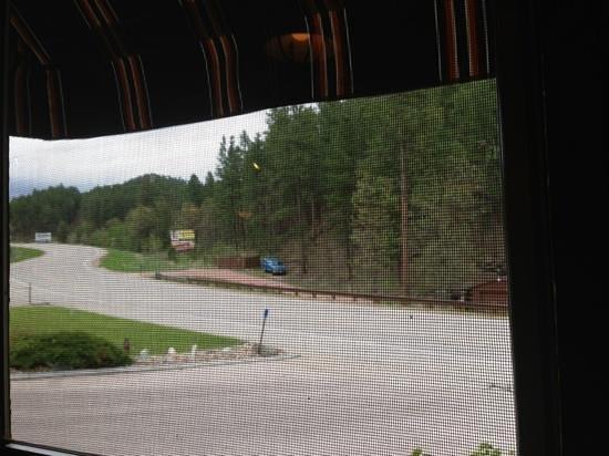 Powder House Lodge Restaurant : view