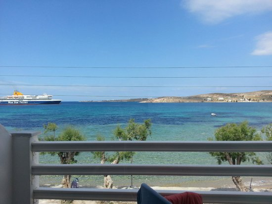 Hotel Paros: View from my room.
