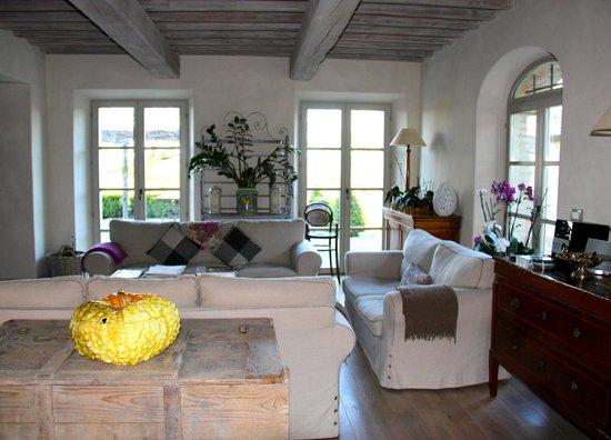 Living area - Picture of Agriturismo Casa Fabbrini, San Casciano ...