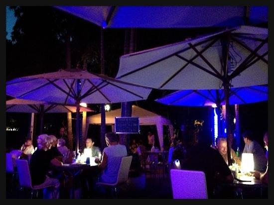 Diana-Oasis Residence Hotel/Studios & Garden Restaurant: 夕食 ファラン多い リーズナブル