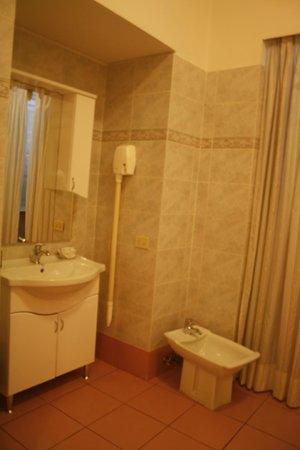 Dreaming Roma B&B: the bathroom