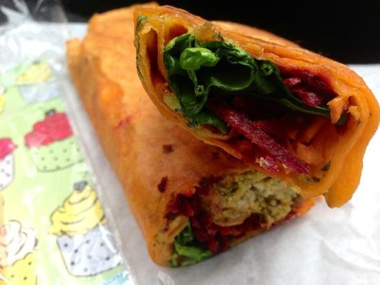 Tealicious House: try the toasted or fresh falafel wrap its soooo good