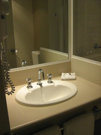 Travelodge Hotel Garden City Brisbane: Bathroom