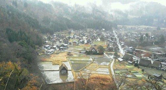 白川村, 岐阜県, 11月末