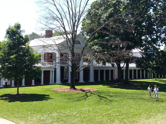 University of Virginia: Campus Courtyard