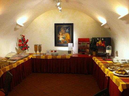 Domus Sessoriana Hotel: Buffet 3