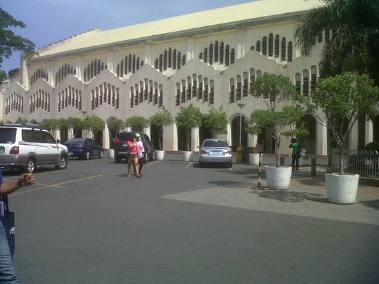Redemptorist Church - National Shrine of Our Mother of Perpetual Help: outside view of the church