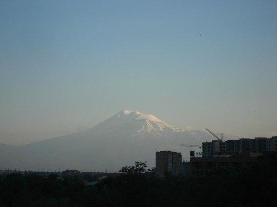 Shirak Hotel : panorama dal 6 piano