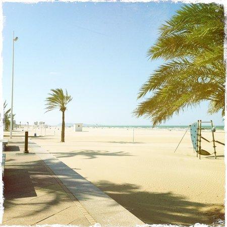 Hotel San Luis: Playa de Gandia beach
