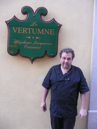Le Vertumne : Owner Stephane Jacquerez