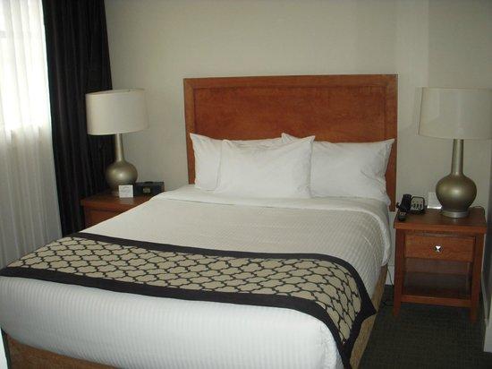Hotel Rialto: Bedroom area