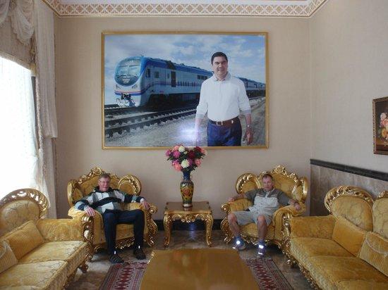 Turkmenbashi, Turkmenistan: Lobby