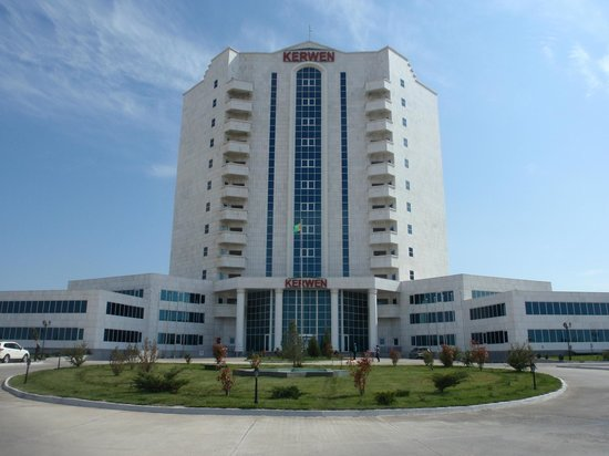 Туркменбашы, Туркменистан: Hotel Kerwan