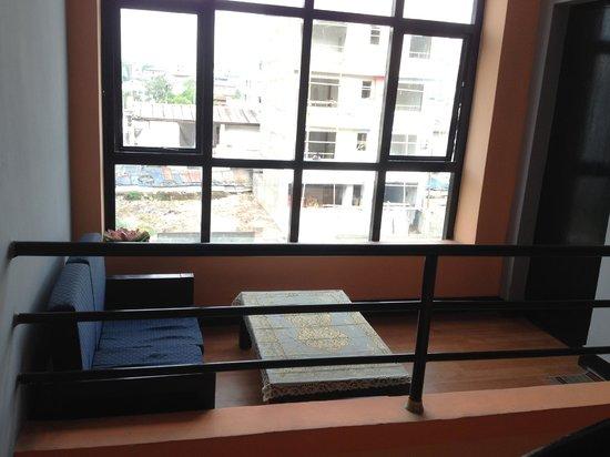 Hotel Buddha Land : Balcony of a room