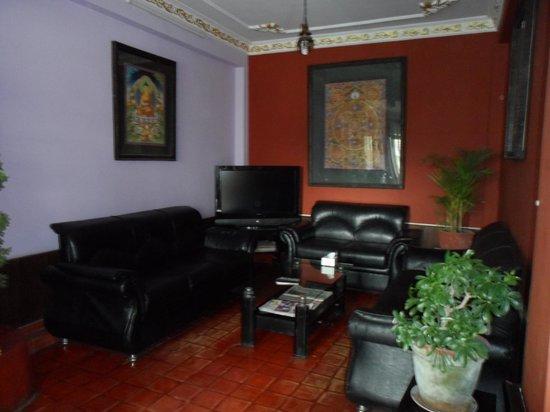 Hotel Buddha Land : The lobby lounge