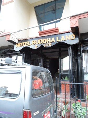 Hotel Buddha Land : Entrance of buddha land