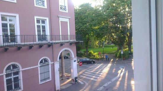 Best Western Hotel De La Bourse: Vue exterieure Parc